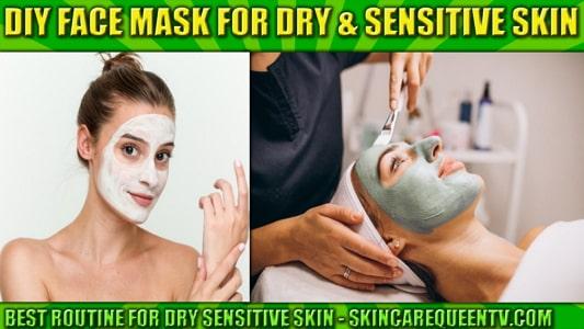 best face mask for dry sensitive skin