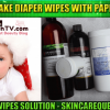 diy homemade baby wipes solution