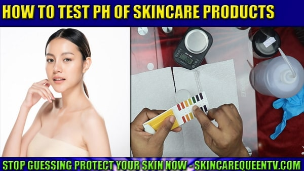 how to test ph lotion shampoo