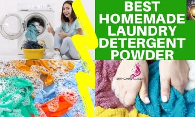 best homemade laundry detergent powder recipe