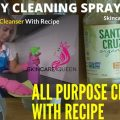diy all purpose cleaning spray recipe