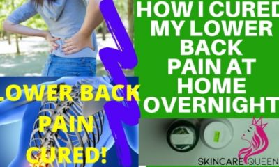 lower back pain cure at home